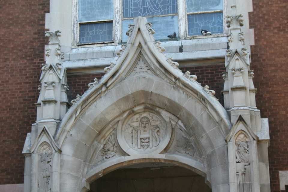 Church Entrance Detail