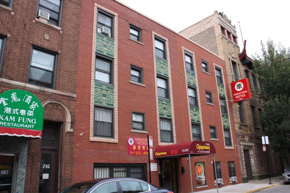 Chinatown Hotel at 214 W 22nd Place from 1946 by Michaelsen and Rognstad