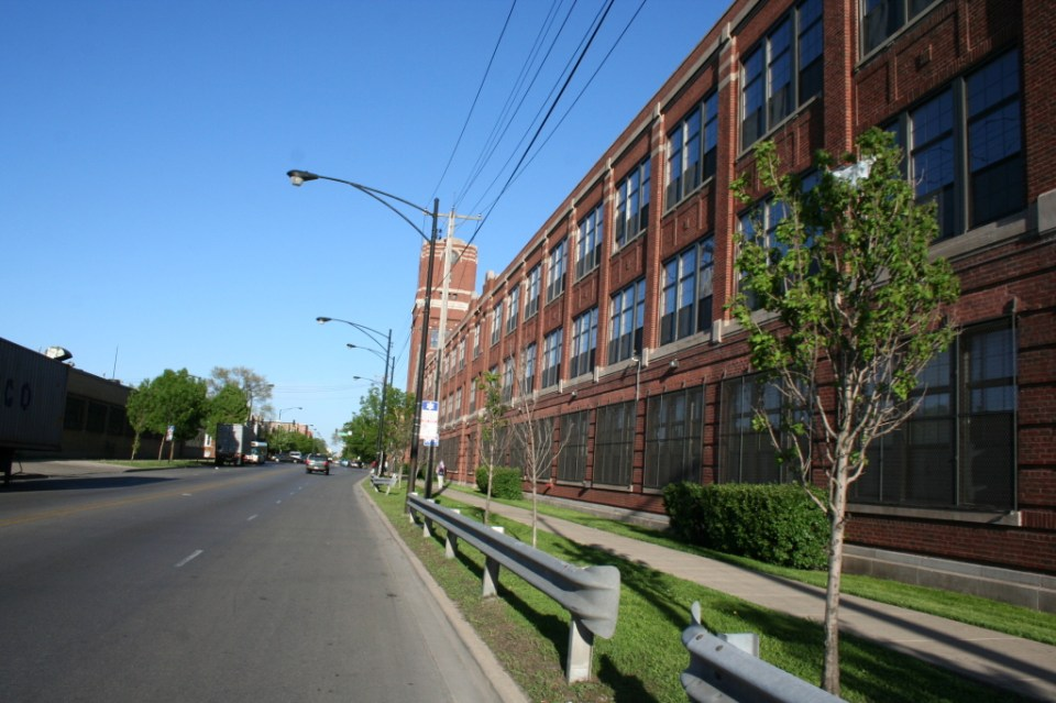 Mundie and Jensen designed prairie manufacturing building