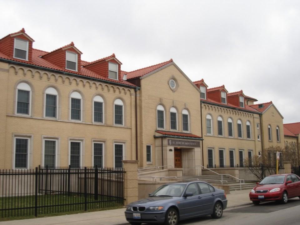 St. Mary of Providence main building