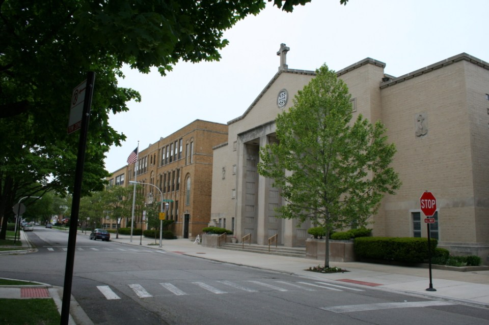 St. Tarcissus Parish – 6040 W Ardmore Ave