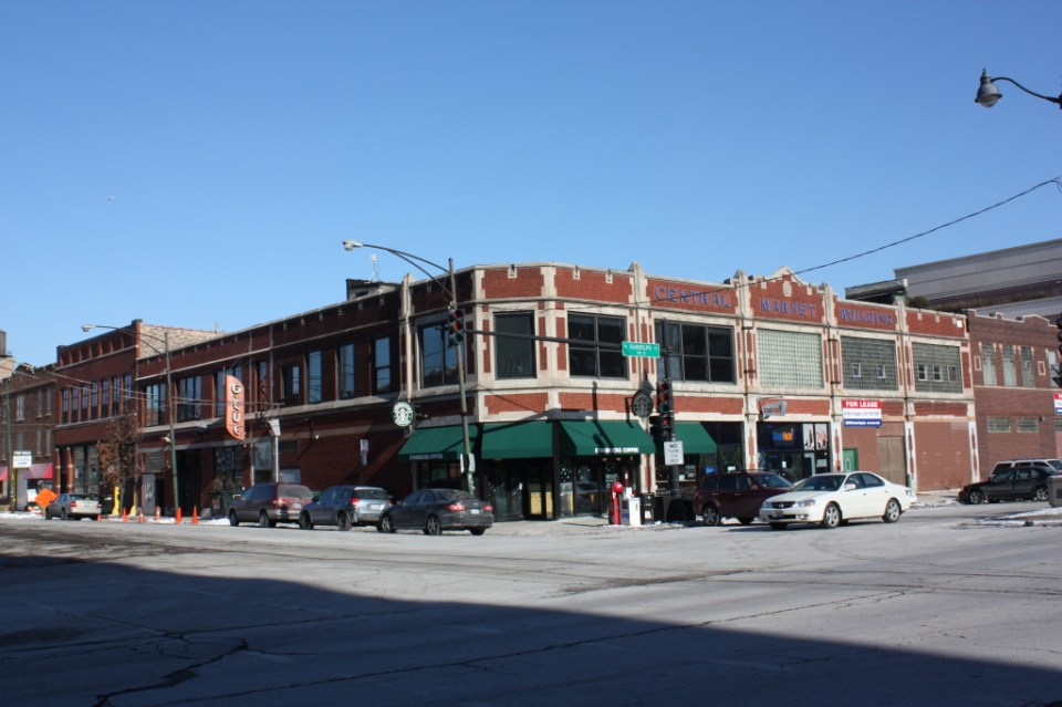 Central Market Building at Randolph and Halsted