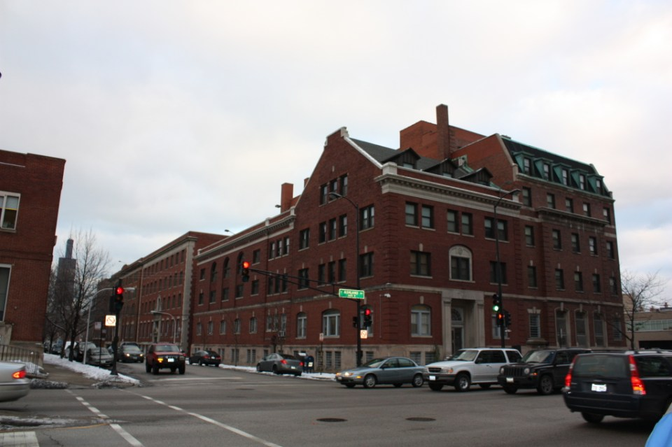 Salvation Army and YWCA buildings
