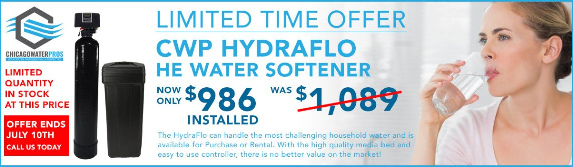 chicago water softener special offer