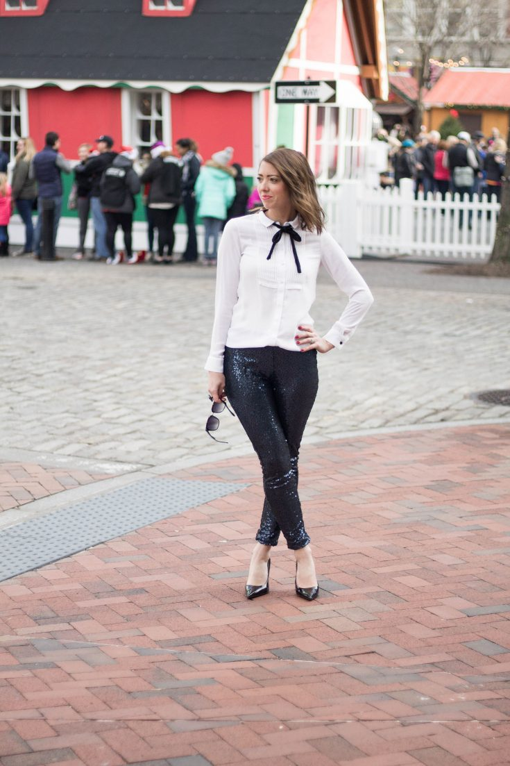 sequin-leggings-tuxedo-shirt