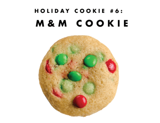 M&M cookie: the universally adored cookie! | www.chicandsugar.com