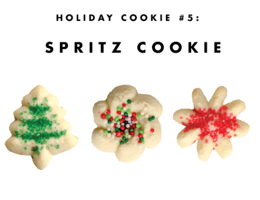 Holiday Cookie #5: The Spritz Cookie | www.chicandsugar.com