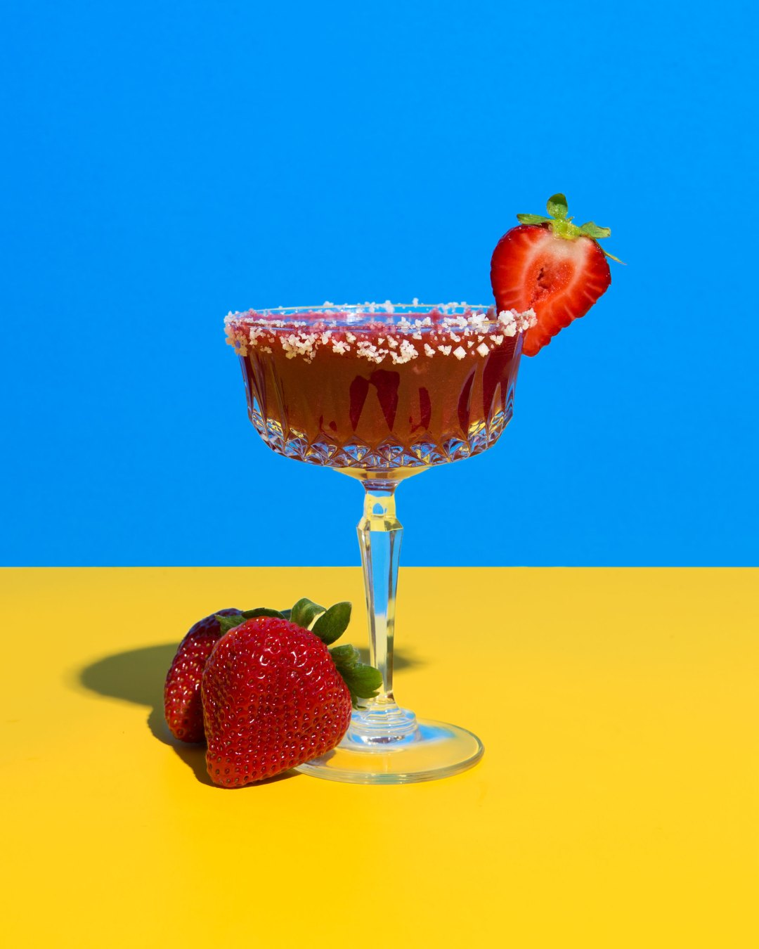 Strawberry Hibiscus Margarita