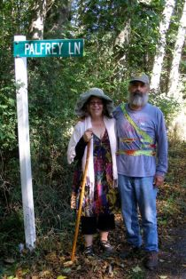 Annie and Randy Waugh on Palfrey Lane