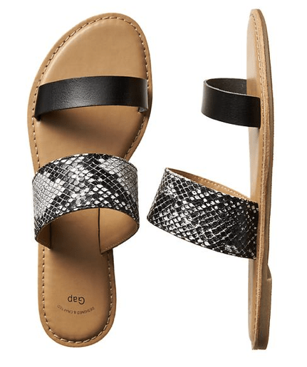 Gap Two Band Sandals