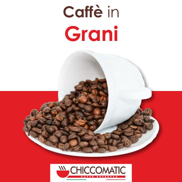 Vendita Caffè in Grani Online - Chiccomatic Shop Online