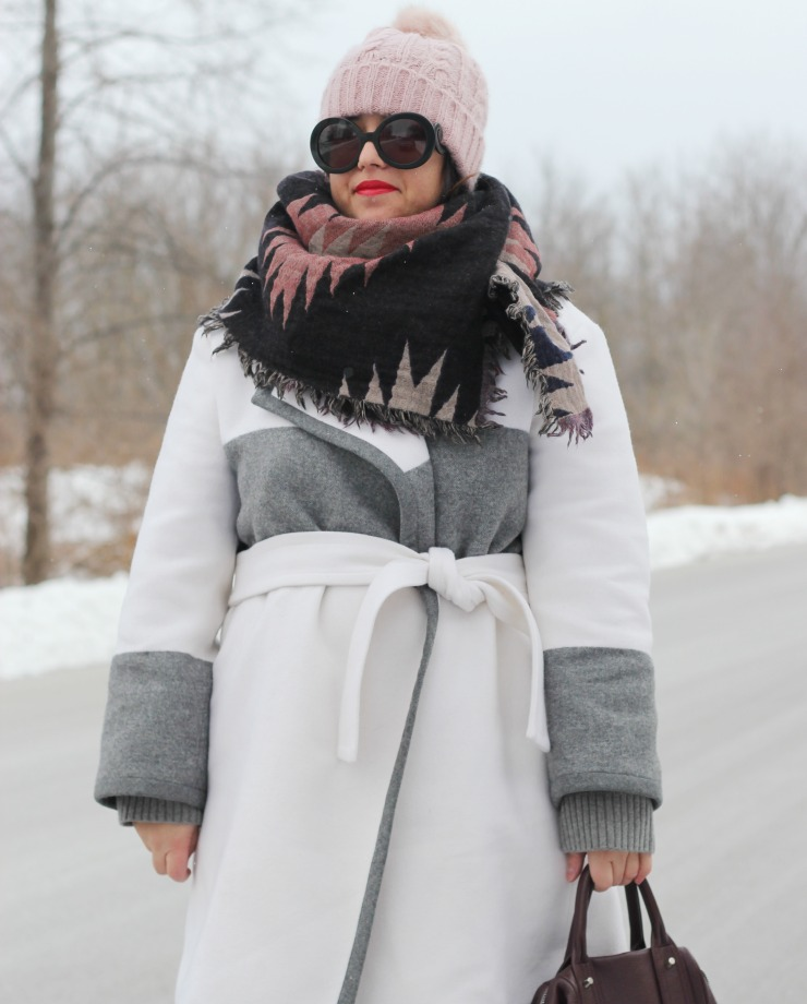club monaco blanket coat