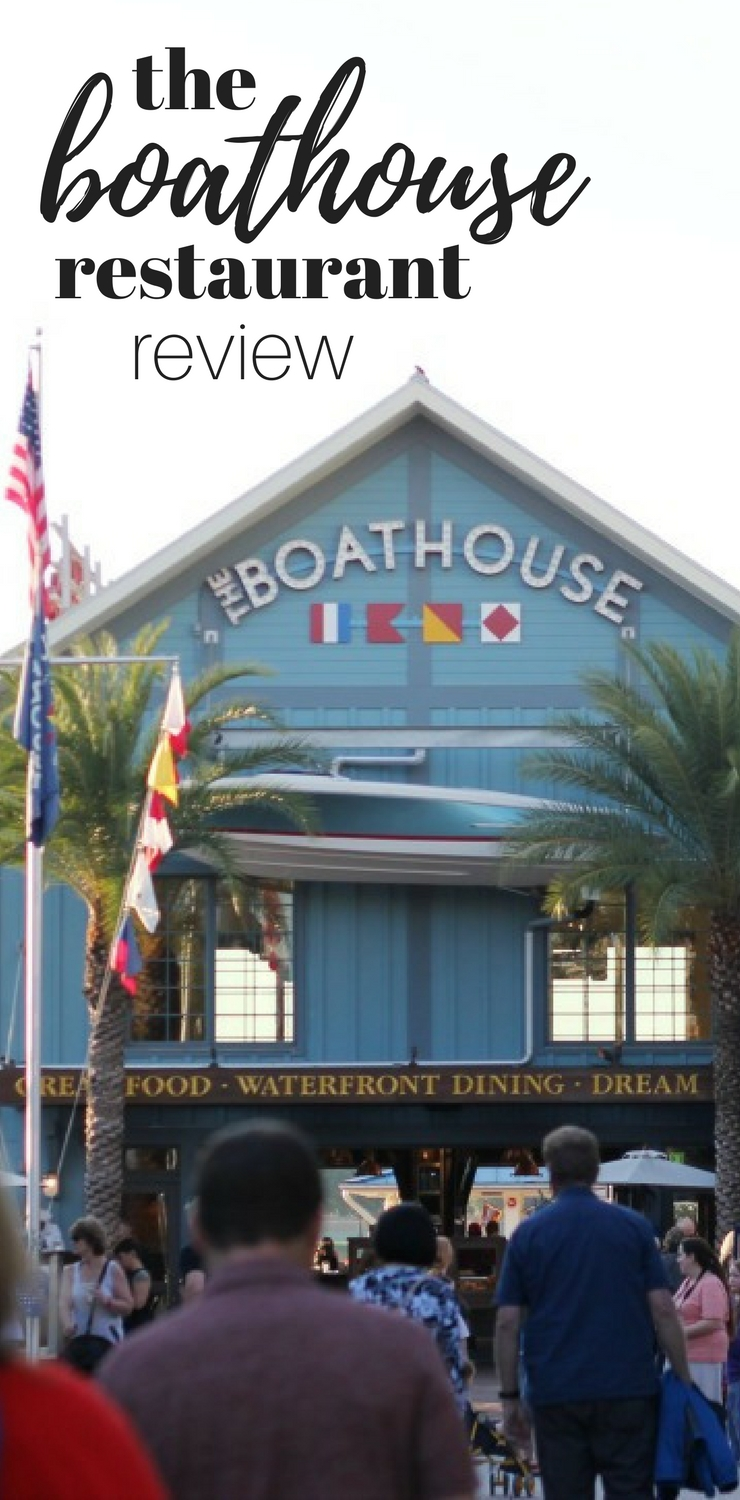 the boathouse restaurant review
