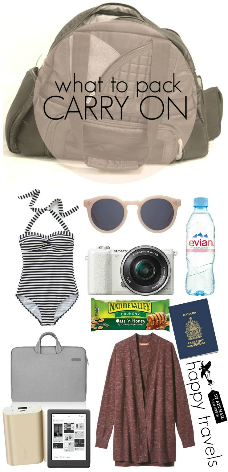 what to pack in a carry on