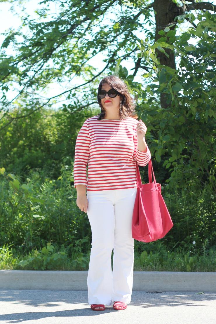 Canada Day stripes