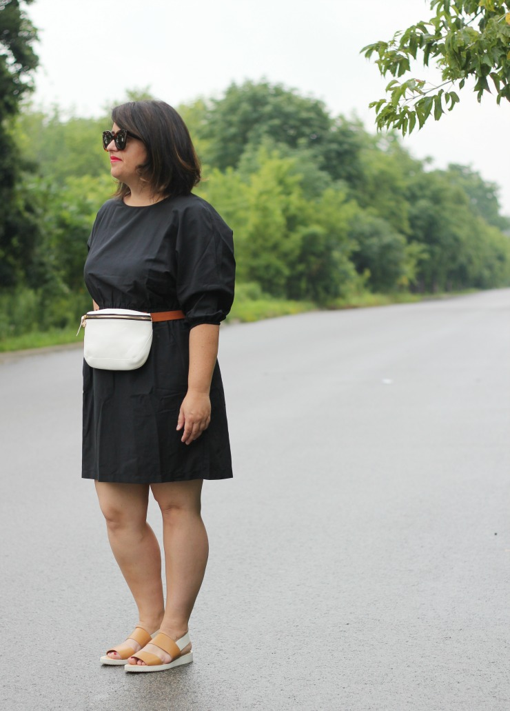 hm dolman sleeve dress