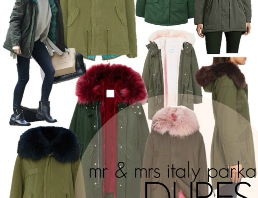 mr. and mrs. italy parka dupes