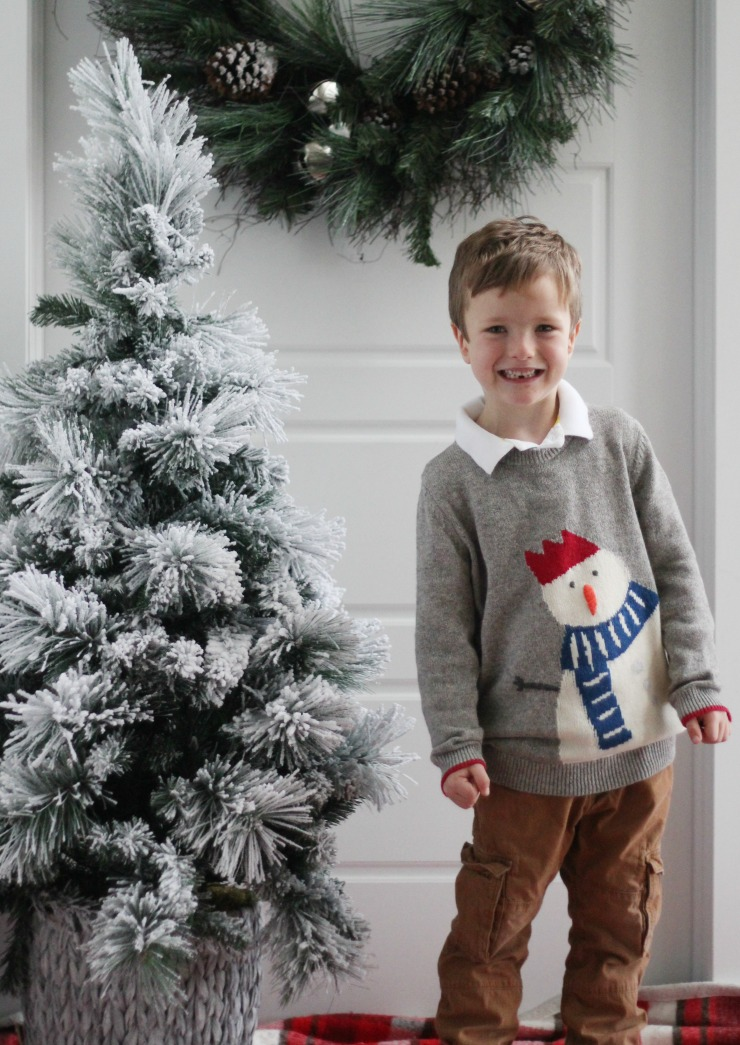 cute kids Christmas sweaters
