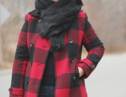 buffalo plaid outfit