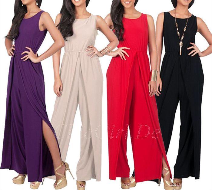 Elegante Damenjumpsuits Damenoveralls Gunstig Online Kaufen