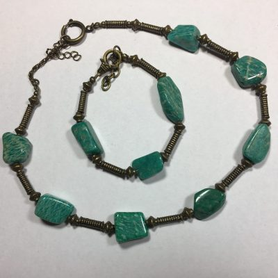 Russian Amazonite - Jewellery - 45 cm - by Ann Williams