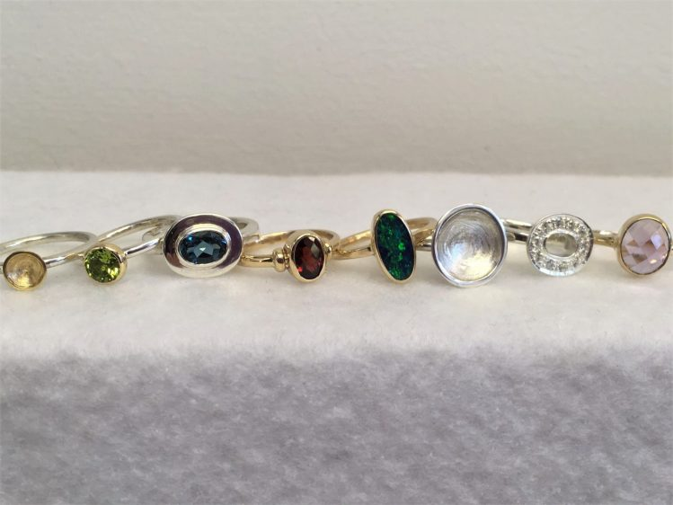 Assorted Rings - Gold
