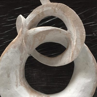 Tidal Knot - Fired clay - 20cm - by Alexandra Beale