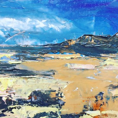Kiloran Bay, Colonsay - oil - 20 x 15 - by James Ware