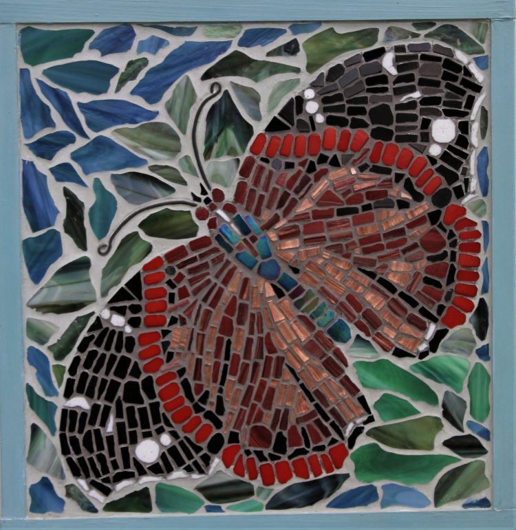 Red Admiral - Mosaic