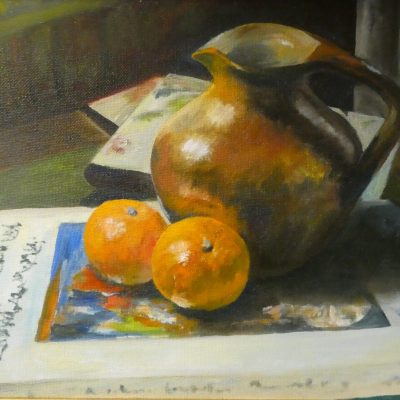 The Brown Jug - Oil