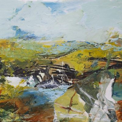 October - Acrylics - 30 x 40 cms - by Kate Rosie