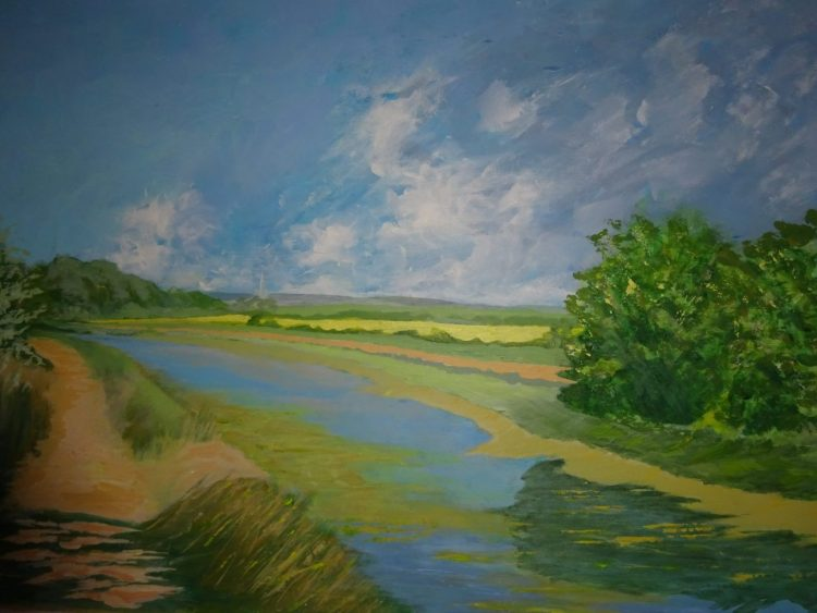 Chichester Canal - Acrylic