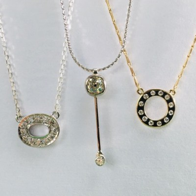 Diamonds are forever - Gold, Silver & Diamonds - small - by Karen Saunders