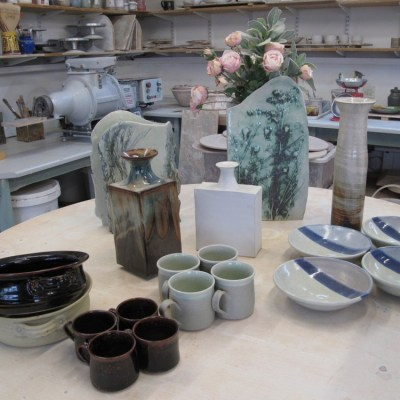 ceramics - stoneware - various sizes - by Malcolm Macdonald