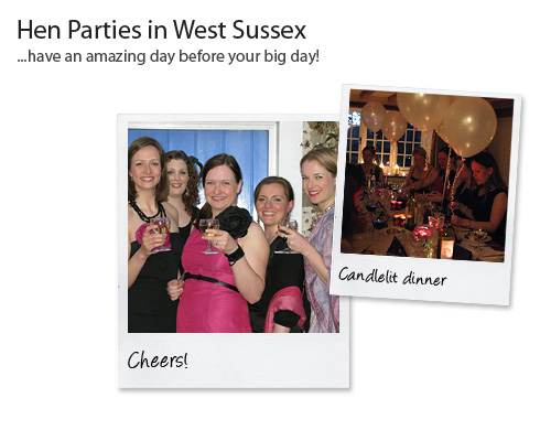 Catering for Hen Parties in West Sussex
