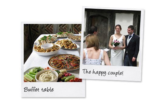 Wedding catering at the weald and downland museum