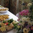 Wedding buffet at the Weald & Downland Museum