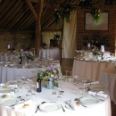 Wedding catering at Grittenham Barn