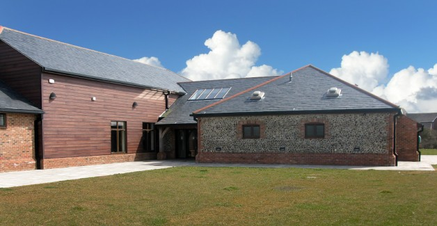 Boxgrove Village Hall architects design new wedding venue at Bracklesham Barn