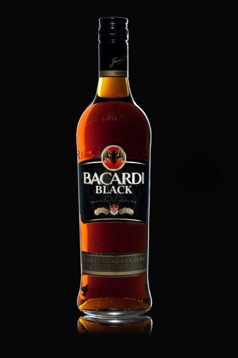 Bacardi Black (Bacardi dark rum)