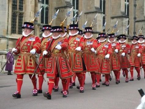 Yeomen guard london.