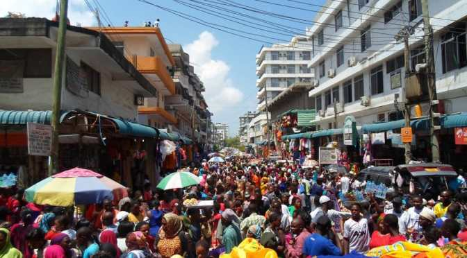 Congo Street, Kariakoo, Dar es Salaam, Tanzania