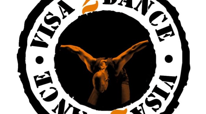 Visa 2 Dance Contemporary Dance Festival Logo