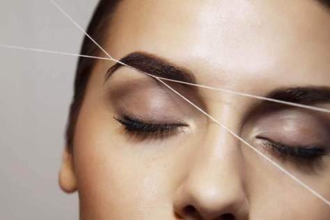 Eyebrow Threading