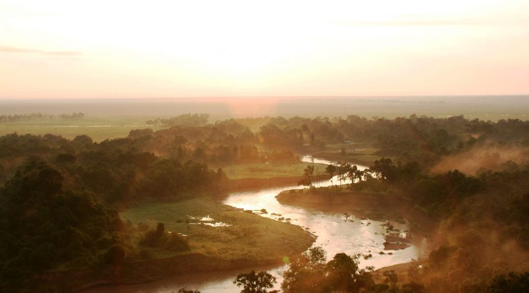 River and the Serengeti Plains