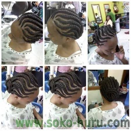 Wavy Braid Lines Style