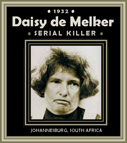 Daisy de Melker, female serial killer, Johannesburg