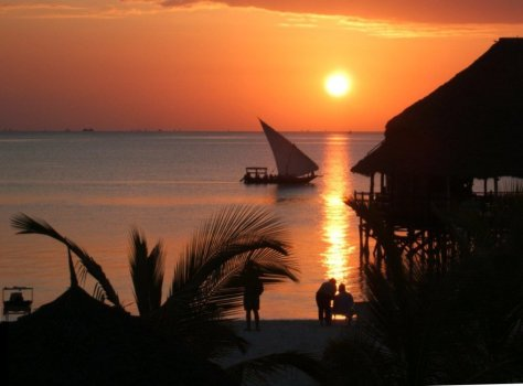 View from La Gemma dell' Est, Nungwi, Zanzibar