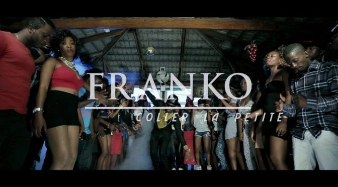 A shot from the music video depicting Franko - Coller La Petite lyrics and collet la petite meaning