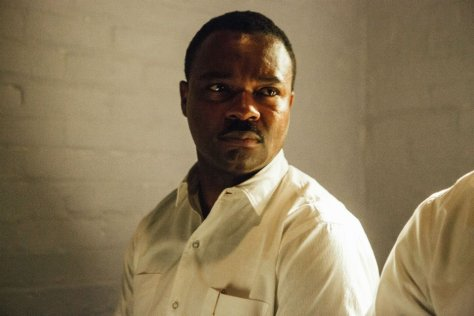 David Oyelowo with a concerned expression in Selma